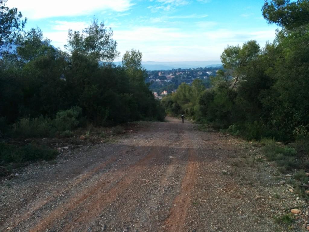 Subida Serra de Cardus
