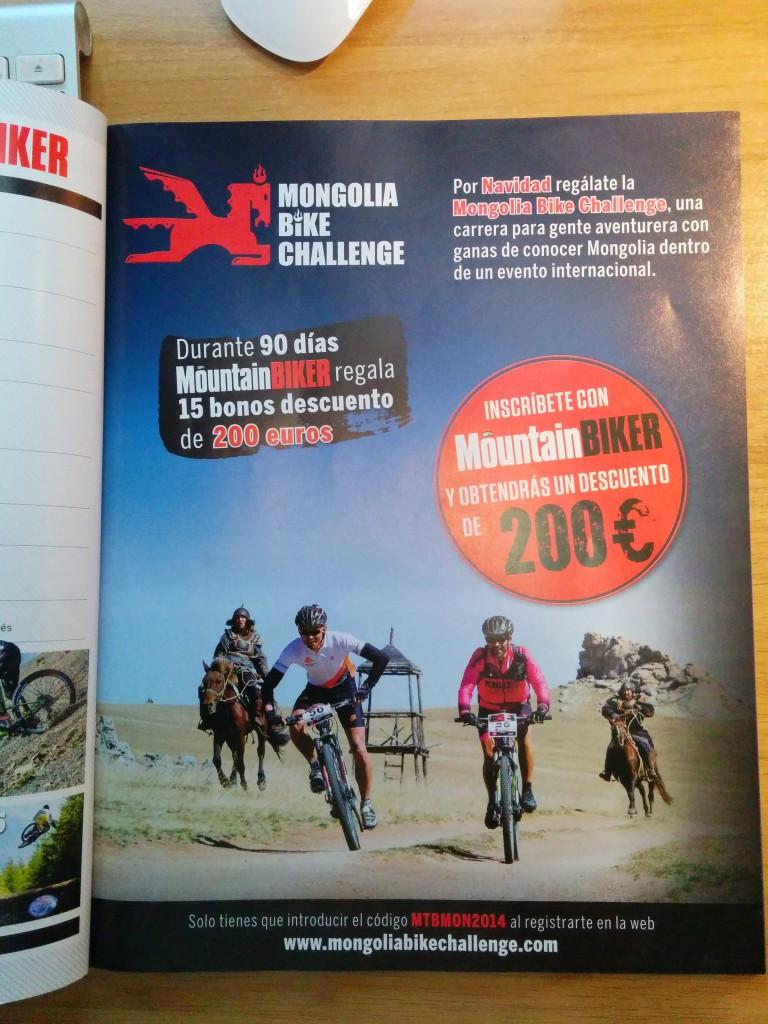 Mongolia Bike Challenge discount